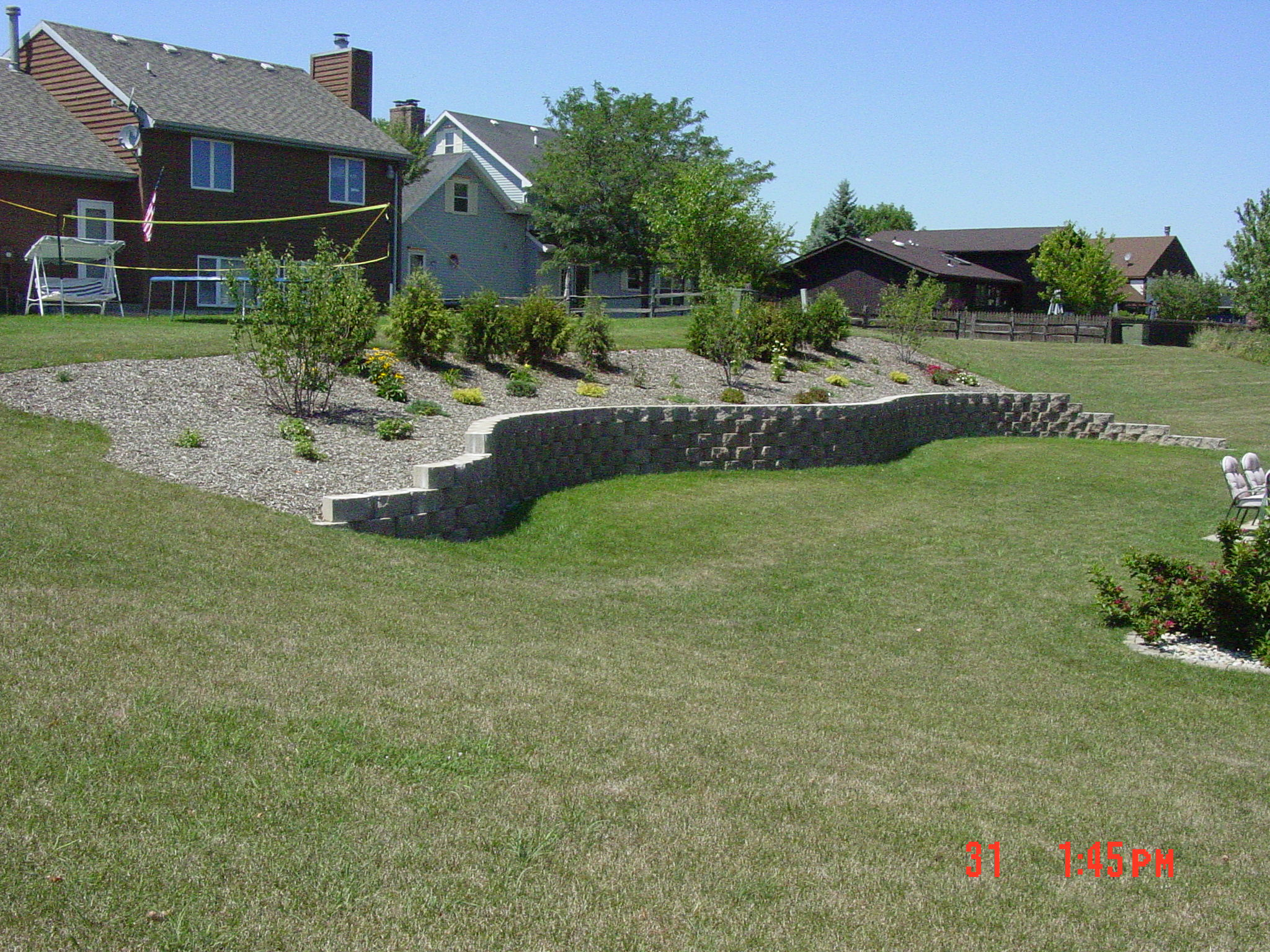 Block Retaining Wall Construction