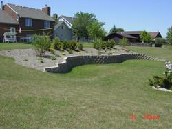 Block Retaining Wall Construction