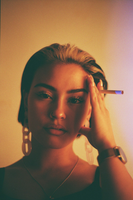 Gold Girl Portrait by STREETVISION.NX