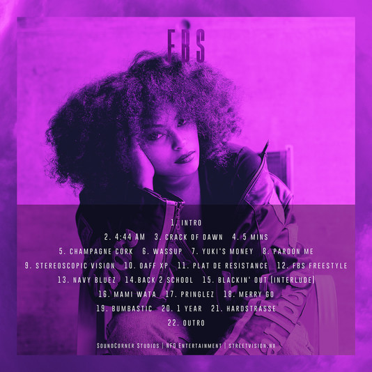 STREETVISION.NX - DeCana Cover Album FBS - Tracklist