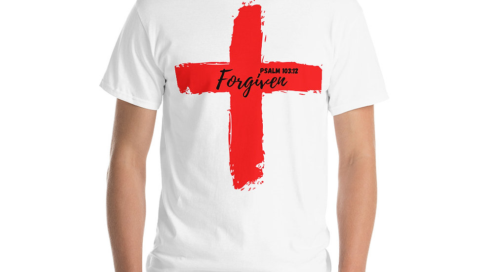 Because of the Cross - Forgiven - Men's T-Shirt