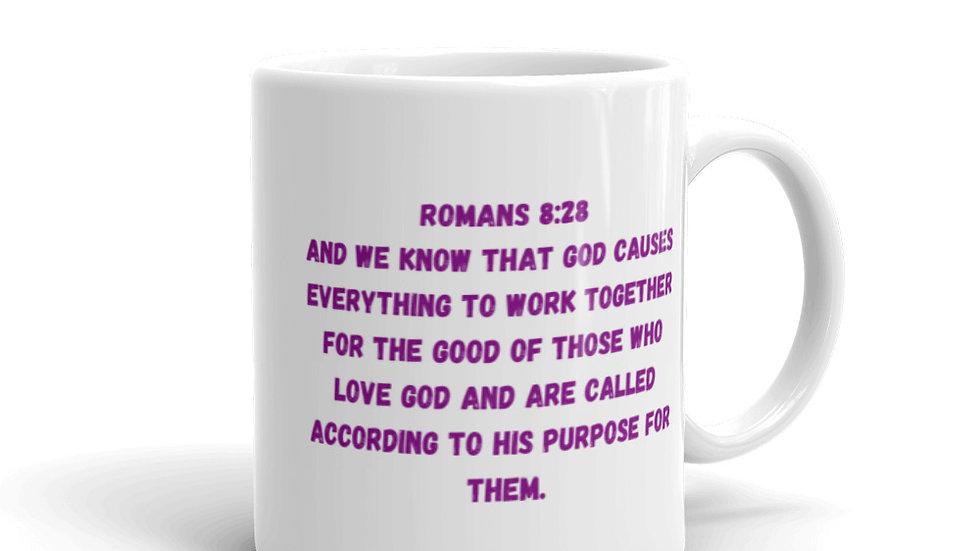 God's Promises Are For Me Mug - Romans 8:28
