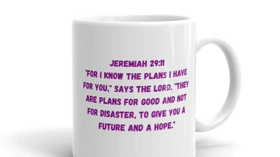 God's Promises Are For Me Mug - Jeremiah 29:11