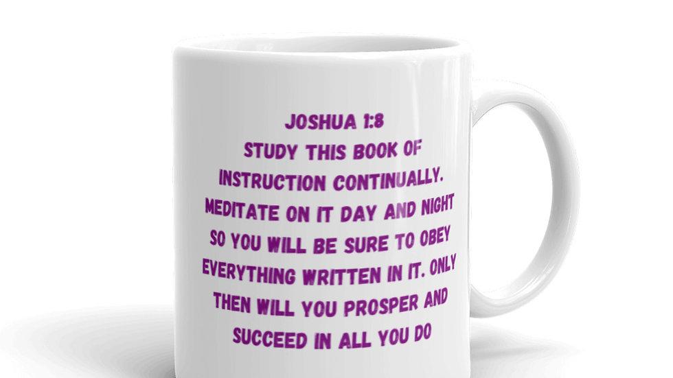 God's Promises Are For Me Mug - Joshua 1:8