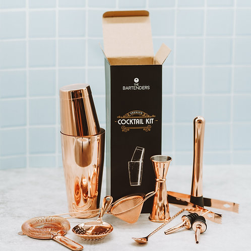 Copper Cocktail Kit