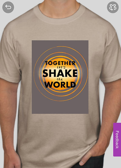 Let's Shake The World Tee