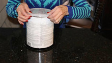 The reusable Zoose Paint Can Lids works for all age groups!
