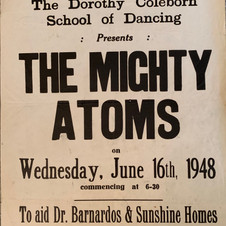 'Mighty Atoms' performing at the Pavillion