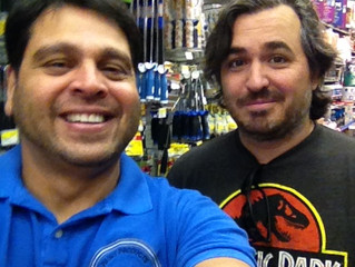 Picture with Brian Quinn