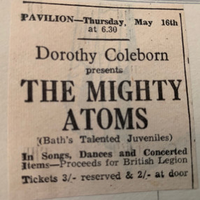 Dorothy Coleborn's Mighty Atoms.