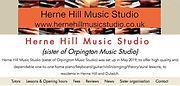 Herne Hill Music Studio