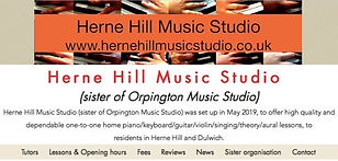 Herne Hill Music Studio