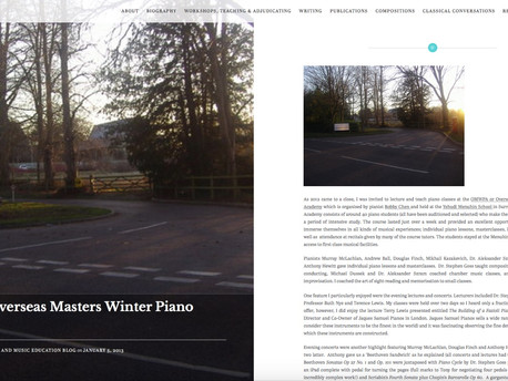 ClassicalMel's Piano and Music Education Blog - 5th January 2013