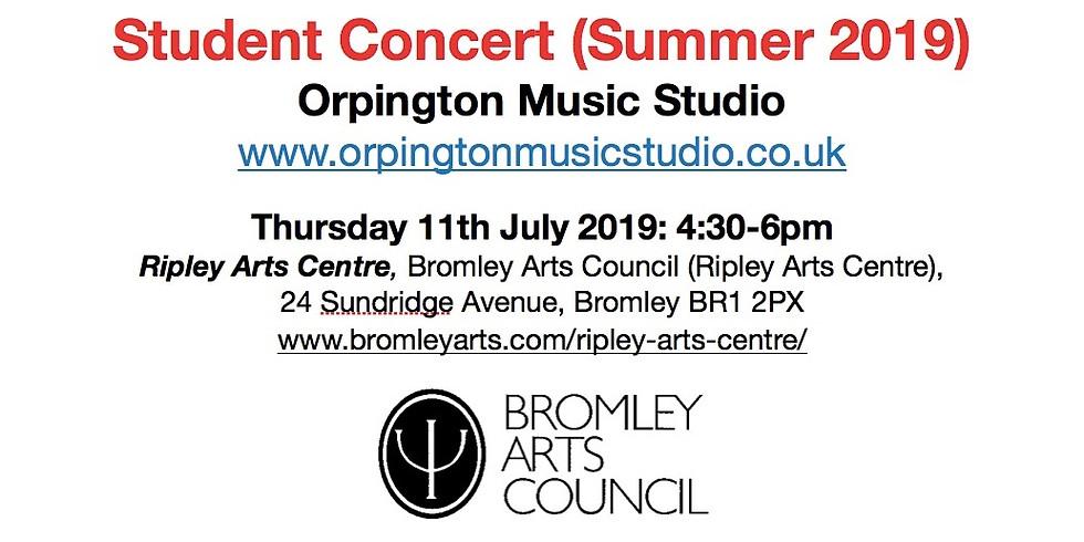 Student Concert (Summer 2019) - Bromley