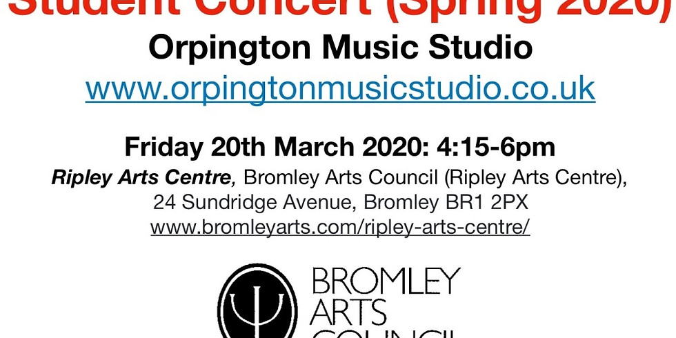 Student Concert (Spring 2020) - Bromley