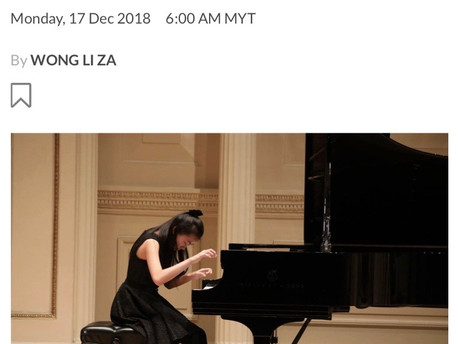 "Star2 (The Star Online) - 17th December 2018 ""OMWPA programme nurtures young Malaysian musicians"""