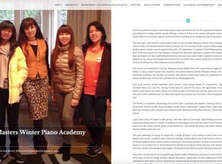 The Classical Piano and Music Education Blog - 21st December 2014