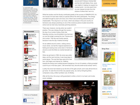 Classical Music Asia - 25th March 2012