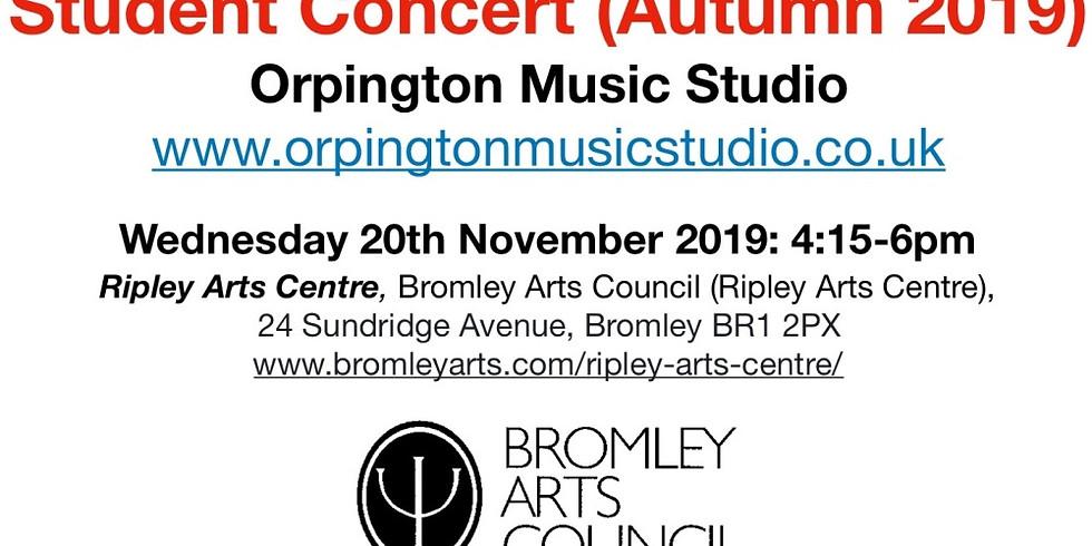 Student Concert (Autumn 2019) - Bromley