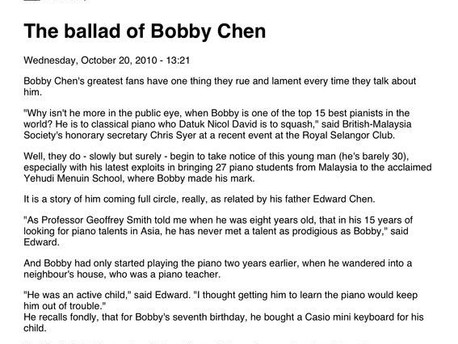 Malay Mail - 20th October 2010