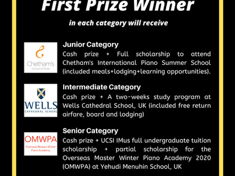 Partial sponsorship of 1st Prize winner 'Senior category' IPFC 2020 (by OMWPA)