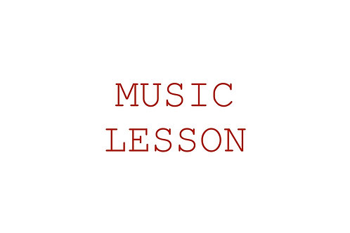 60-minute music lesson