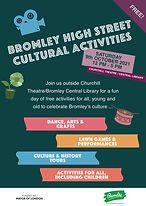 Bromley High Street Cultural Day