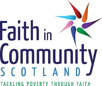Grant from Faith in Community Scotland