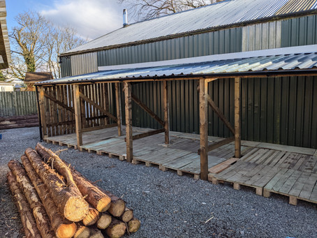 New Wood Drying Store
