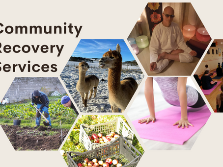 Upcoming Services for Community Recovery