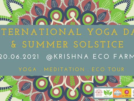 International Yoga Day & Summer Solstice Celebration