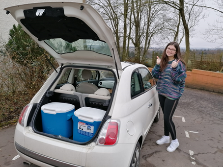 Food for Scotland wonderful volunteer drivers