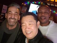 Eddie, Luther, Donovan