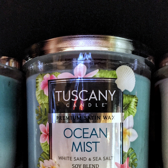 Ocean Mist by Tuscany Candle
