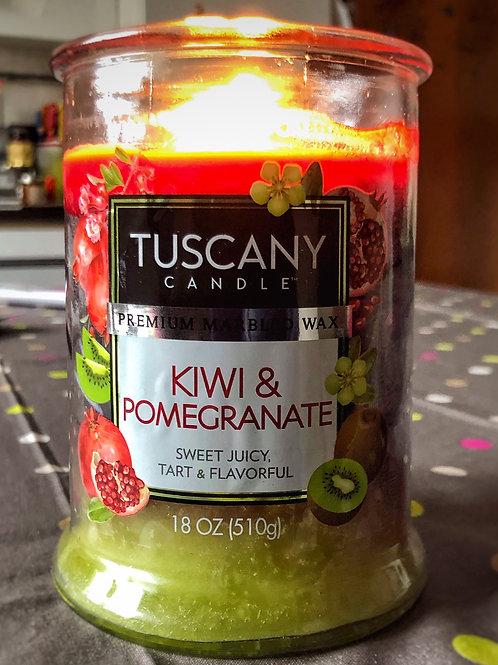 Kiwi & Pomegranate