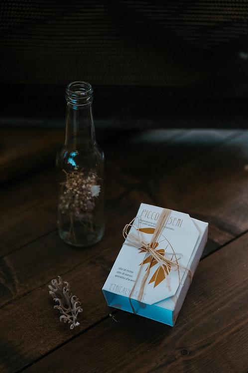 Piccoli semi Bagno e crema doccia solido per pelli sensibili