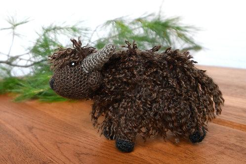 Hand-Crocheted Yak Buddies