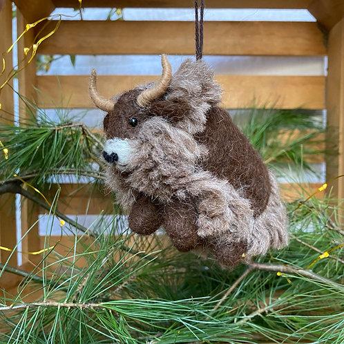 Yak Buddy Ornament