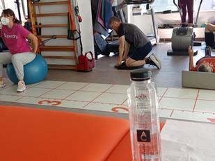Alǎturi de kinetoterapeuți, viața sănătoasă e un maraton, nu un sprint. #Apecurateasumate