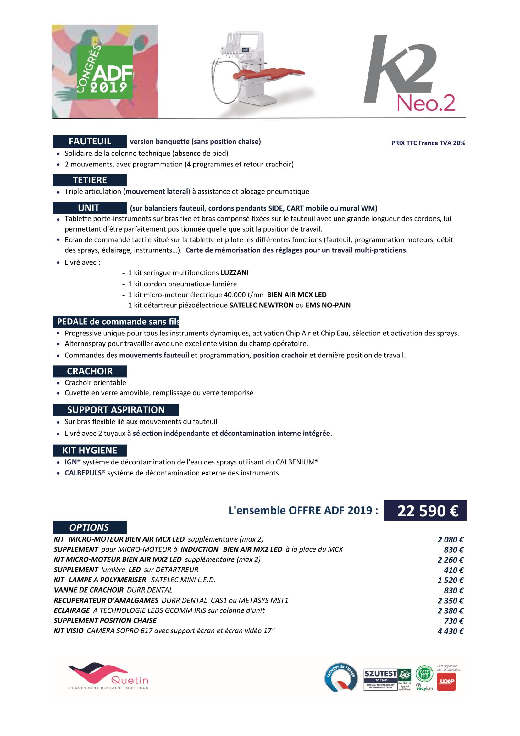 Offres ADF 2019