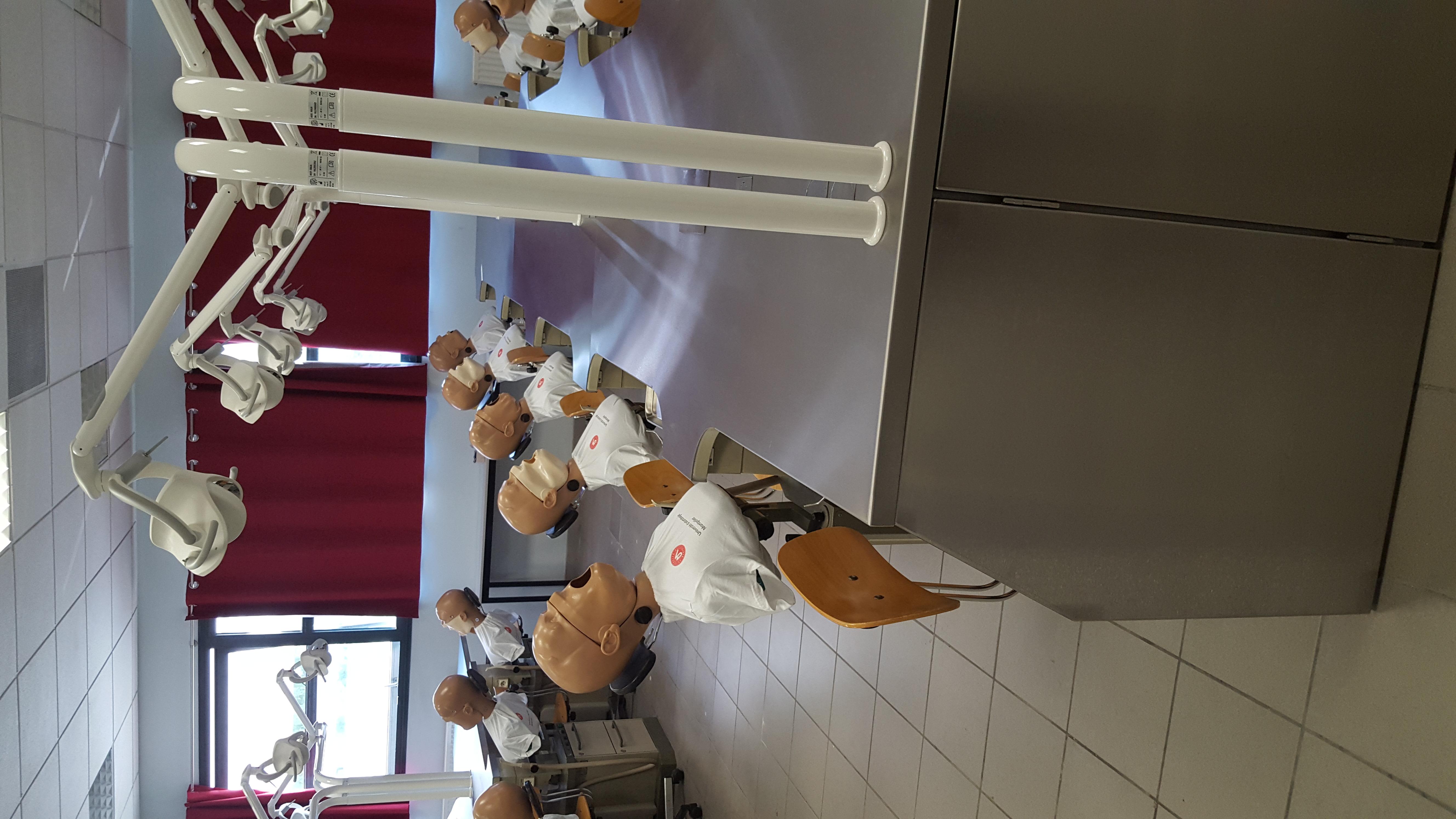 Rénov salle TP UFR Odontologie M.