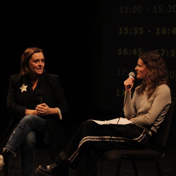 Alison Millar and Claudia Hampton