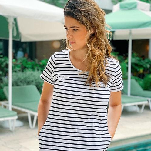 Classic Cotton T-Shirt Dress