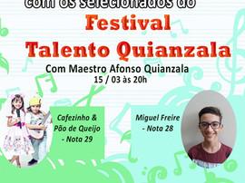 Nosso aluno Miguel está classificado em festival de talentos de Uberlândia