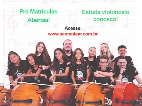 Sementear busca novos alunos de violoncelo