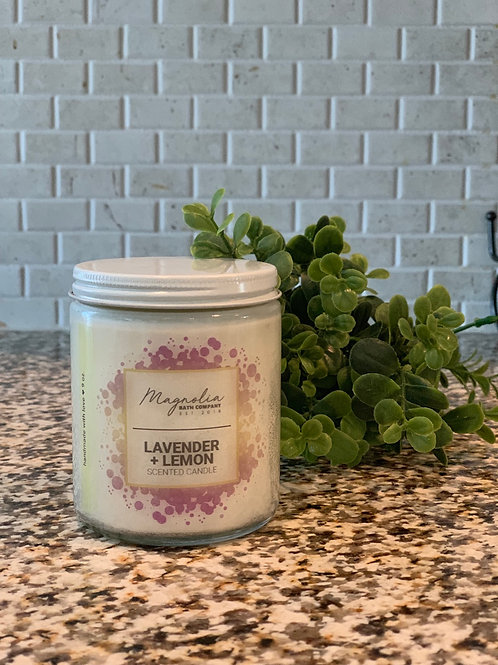 Lavender + Lemon Soy Candle