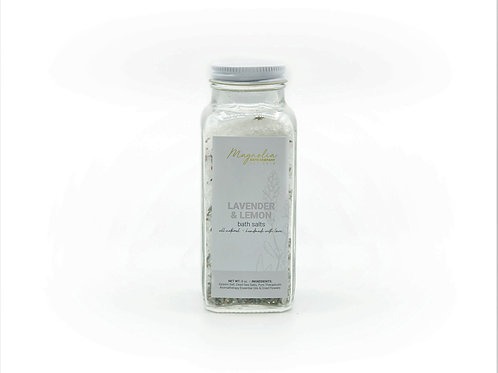 Lavender + Lemon Bath Salts