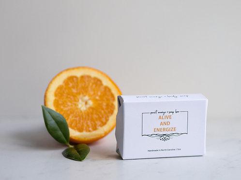 Sweet Orange Handmade Soap Bar