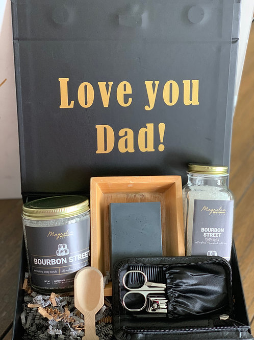Father's Day Custom Self Care Box
