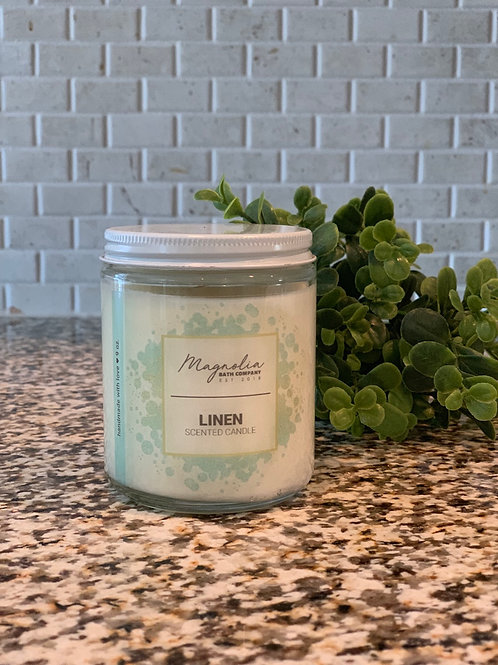 Linen Soy Candle